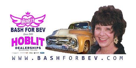BASH FOR BEV tickets
