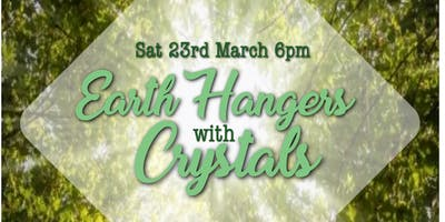 Earth Hangers with Crystals