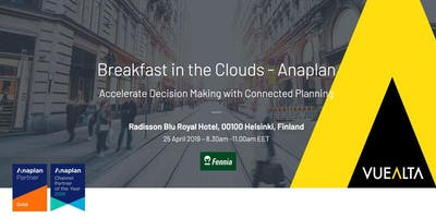 Breakfast in the clouds - Vuealta & Anaplan
