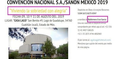 6° Convención Nacional de SA y SANON México