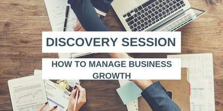 SABAS Discovery Session - How to manage business growth  tickets