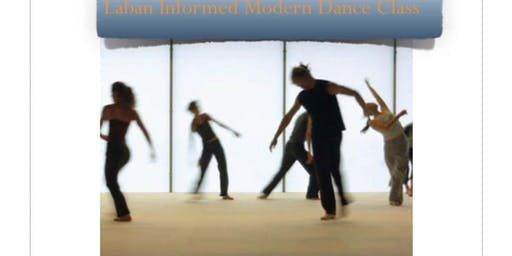 Laban Informed Dance Classes with Lisa Goldman