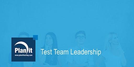 Test Team Leadership Training Course - Perth