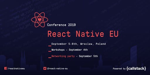 React Native EU 2019 Conference