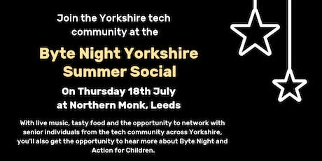 Byte Night Yorkshire Summer Social tickets