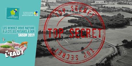 Animation ludique: Dossier TVB 18995 TOP SECRET billets