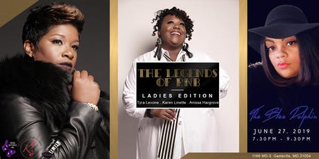 The Legend of R&B Ladies Edition (tribute) tickets