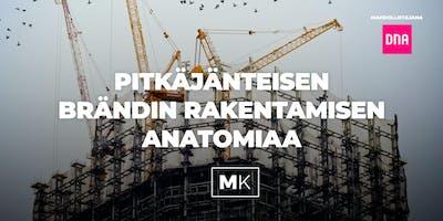 [MK] Pitkäjänteisen brändin rakentamisen anatomiaa
