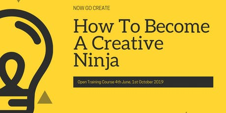 Now Go Create Creativity Training Open Training 2019 tickets