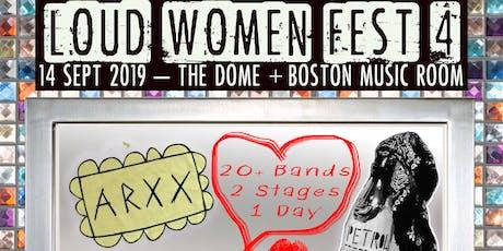 LOUD WOMEN Fest 4 tickets