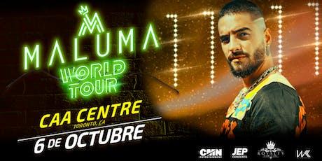Maluma 11:11 World Tour. Toronto tickets