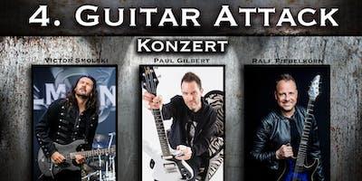 4. Guitar Attack - Konzert   mit Paul Gilbert, Victor Smolski & Ralf Fiebelkorn