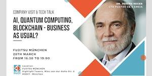 ReDI goes Fujitsu: Company Visit & Tech
