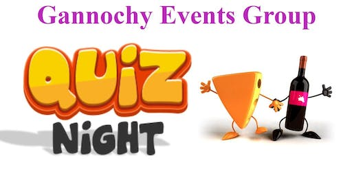 Gannochy Quiz Night (NOW FULLY BOOKED)
