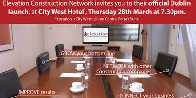 Elevation Construction Network, South Dublin, launch