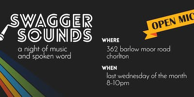 Swagger Sounds Open Mic - music and spoken word welcome