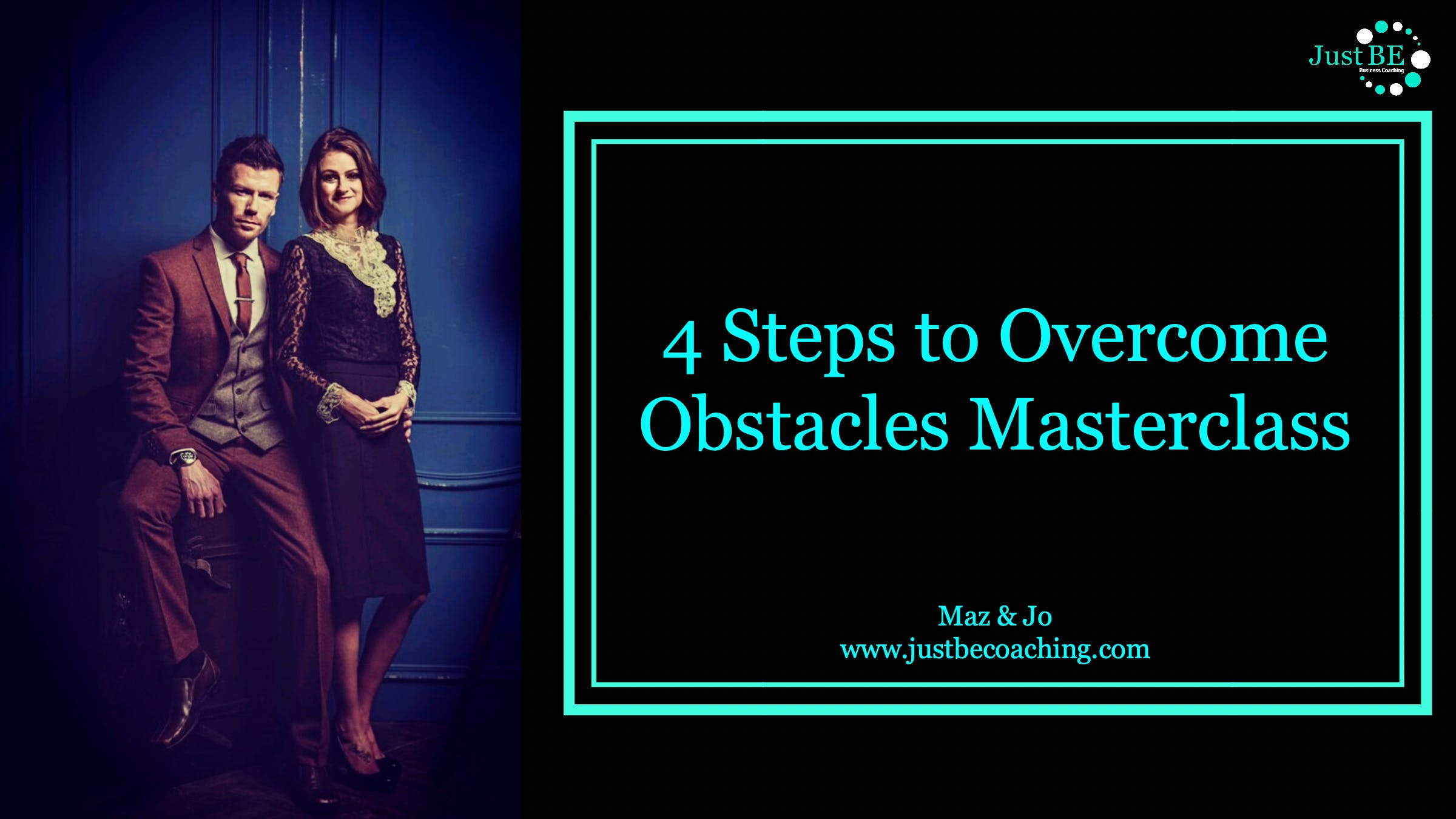 4 Steps to Overcome Obstacles Free Masterclas