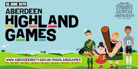 Aberdeen's Highland Games 2019 tickets