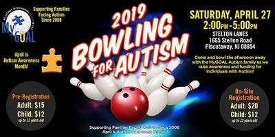 2019 MyGOAL Bowling for Autism Fundraising Event