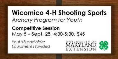4-H Archery Competitive Sessions for Youth