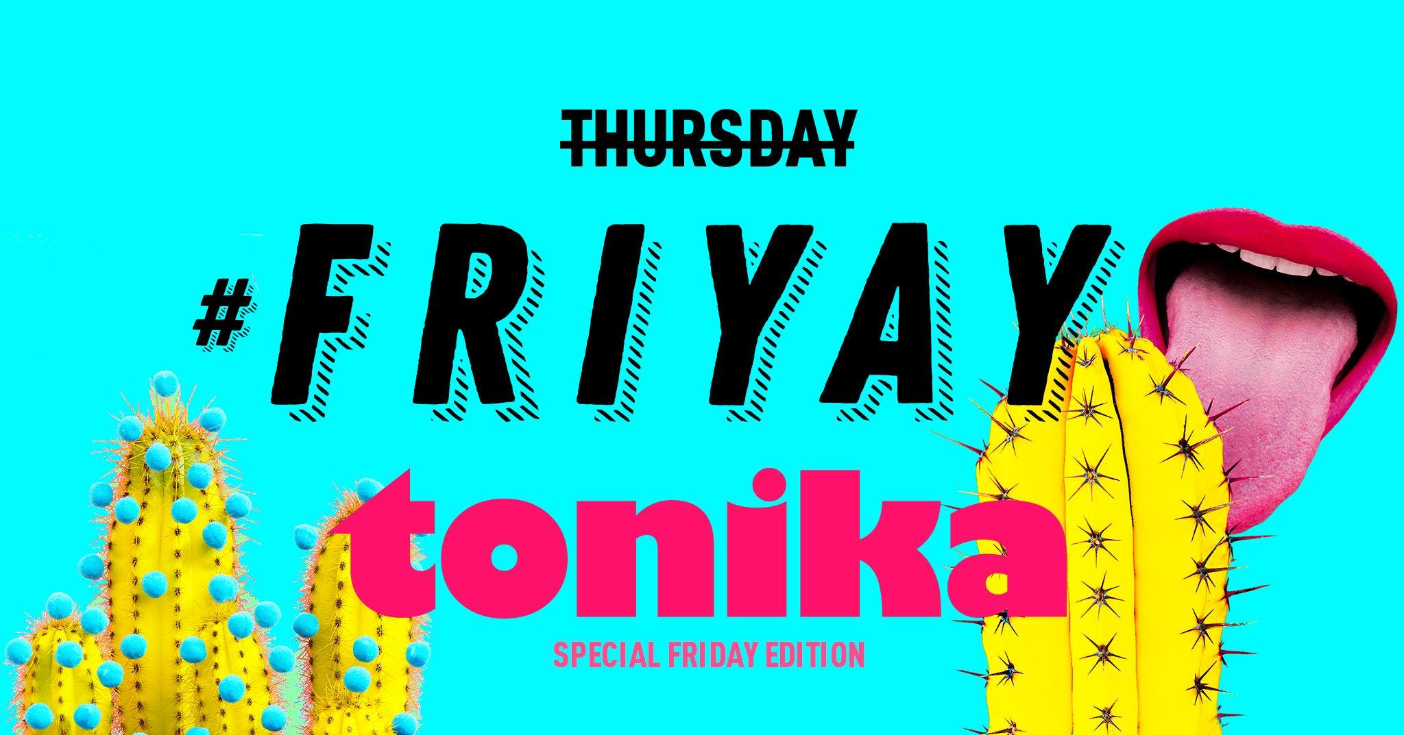 TONIKA NIGHT - The Yellow Bar