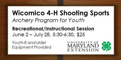 4-H Archery Recreational/Instructional Sessions for Youth