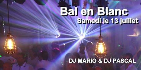 Bal en blanc avec DJ MARIO  tickets