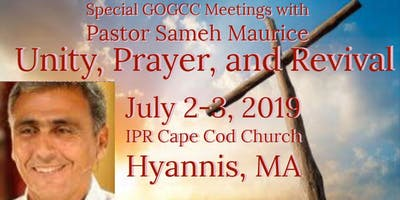 Special GOGCC Meetings with Pastor Sameh Maurice