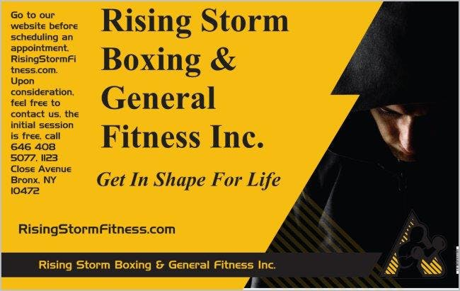 Rising Storm Boxing & General Fitness Inc.