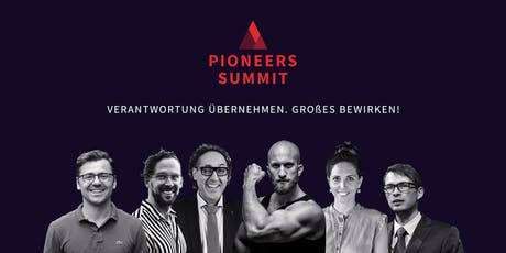 Pioneers Summit 2019 Tickets