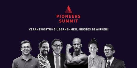 Pioneers Summit 2019 Tickets