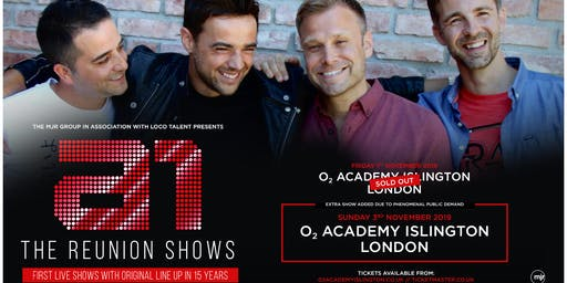 A1 - The Reunion Shows SECOND DATE ADDED! (Islington Academy, London)