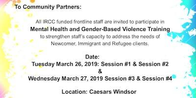 IRCC Mental Health & Gender-based Violence Training