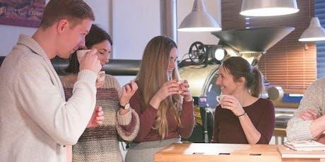 Kaffeeseminar inkl. Kaffeeverkostung & LIVE Röstung Tickets