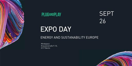 Plug and Play Sustainability Europe - Batch Expo