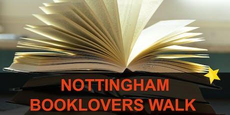 Nottingham Booklovers Walk tickets