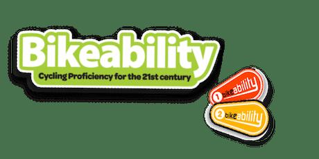 Bike Ability Level 1 @ The Cedarwood Trust PM tickets