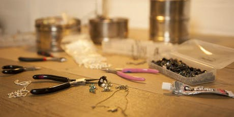 Upcycled Jewellery Making Class – Design & Repair tickets