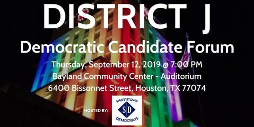 City of Houston District J Democratic Candidate Forum