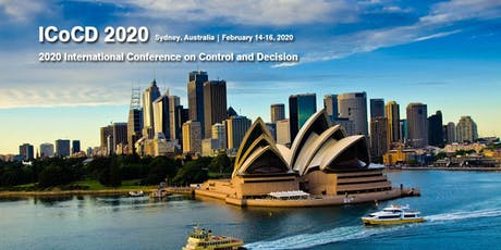 2020 International Conference on Control and Decision (ICoCD 2020) tickets