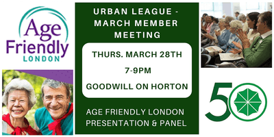 March Meeting - Age Friendly London