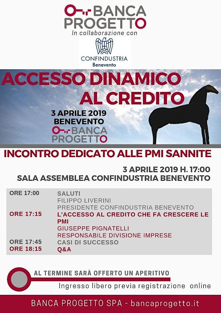Immagine Accesso dinamico al credito