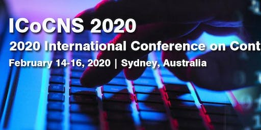 2020International Conference on Control of Network Systems (ICoCNS 2020)