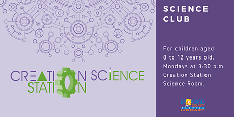 Science Club at the Creation Station tickets