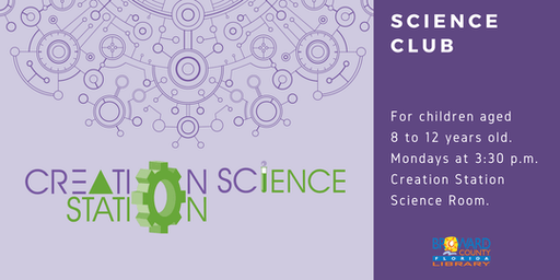 Science Club at the Creation Station