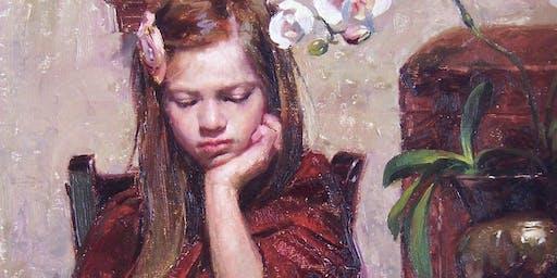 Albin Veselka-The Simplified Portrait in Oil