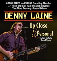 """An Evening With Denny Laine: """"Up Close & Personal"""" Solo Songs and Stories"""