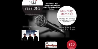 WORDISM Jam Sessionz - Open Mic Spoken Word Event with Music