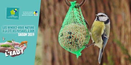 Atelier: Aider les oiseaux pour l'hiver. billets