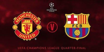 Manchester United v FC Barcelona Tickets - UCL Quarter Finals